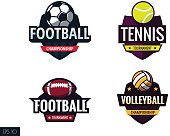 sports labels