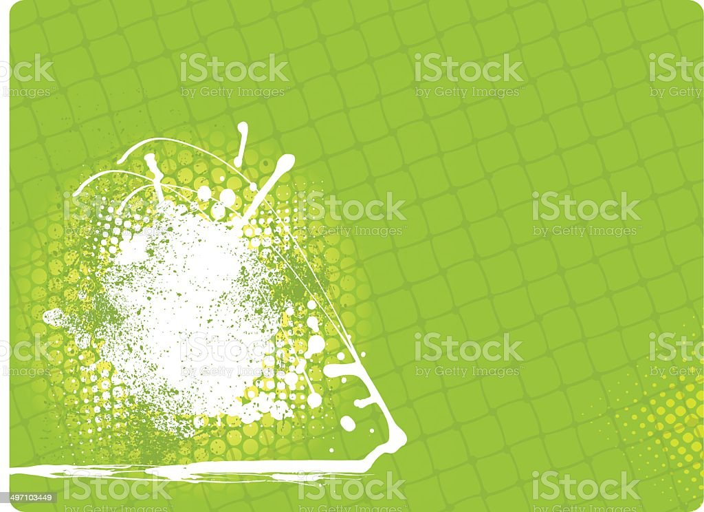 Sports Net Backgound vector art illustration