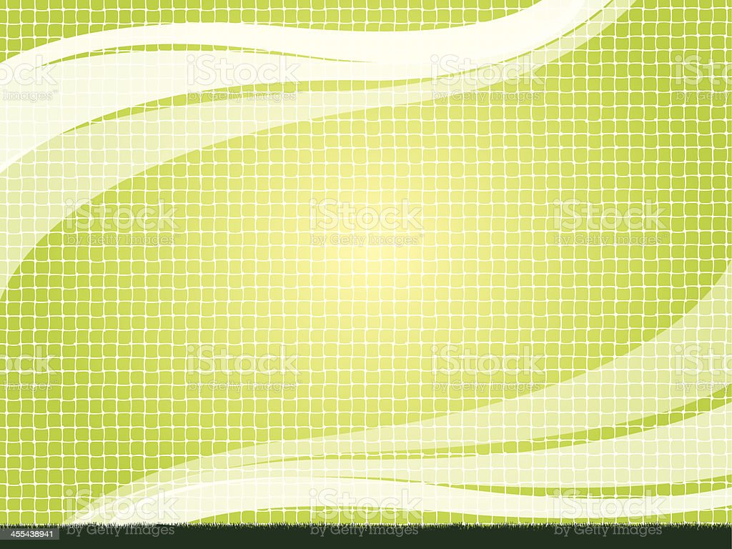 Sports Net Background royalty-free stock vector art