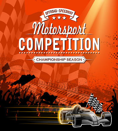 sports race competition sign