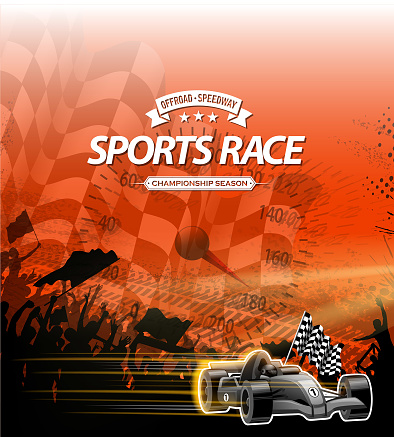 sports race sign
