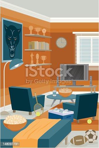 istock Sports Room 148097731