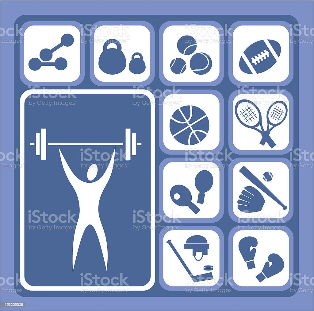 sports set royalty-free sports set stock vector art & more images of adult