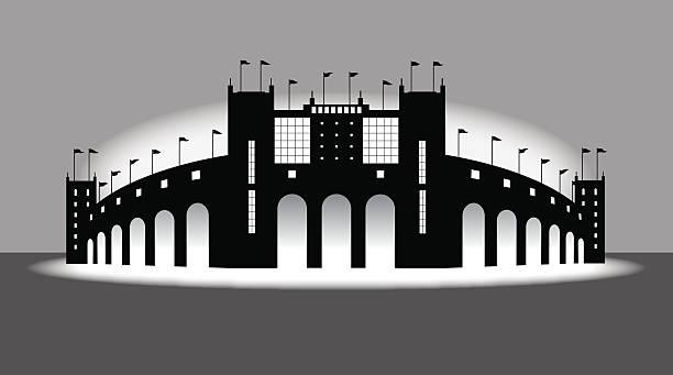 スポーツスタジアムアリーナ - スタジアム点のイラスト素材/クリップアート素材/マンガ素材/アイコン素材