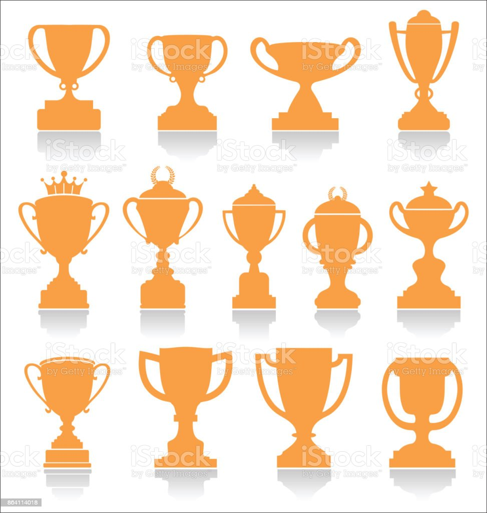 Sports trophies and awards retro collection royalty-free sports trophies and awards retro collection stock vector art & more images of achievement
