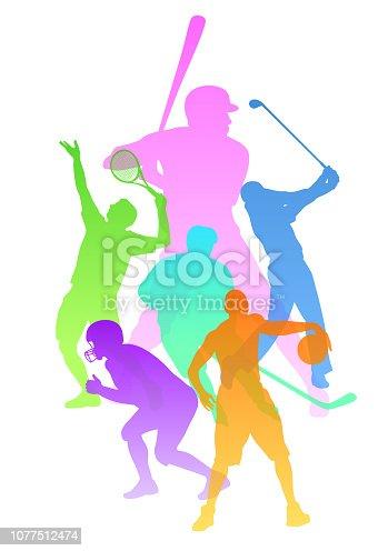 istock Sports Variety Outdoor Activity 1077512474