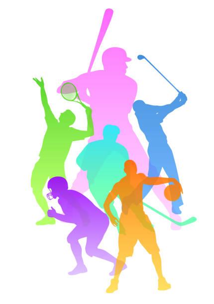 運動品種戶外活動 - 運動員 幅插畫檔、美工圖案、卡通及圖標