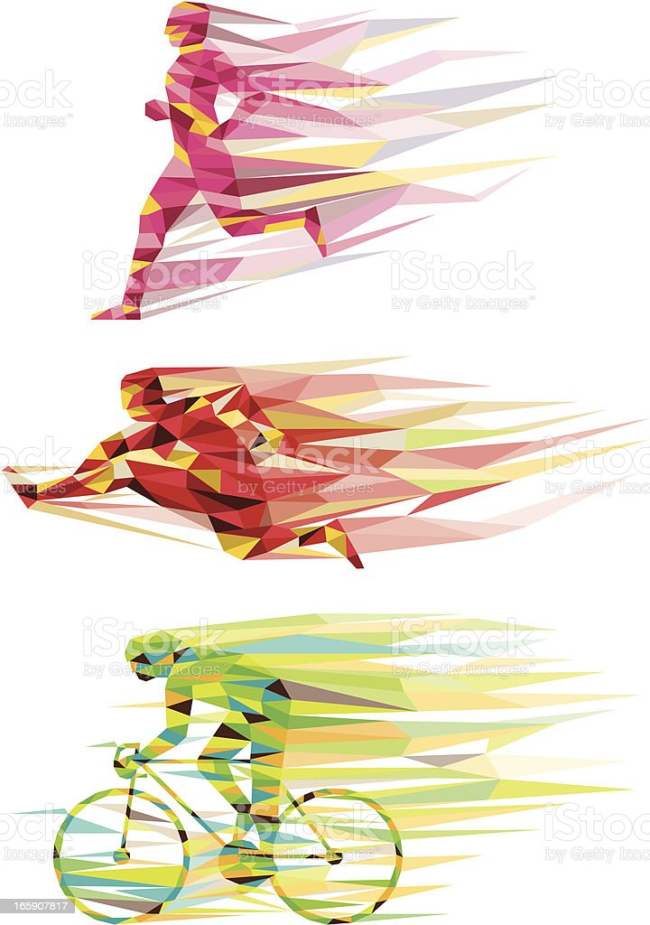 sports vector art illustration