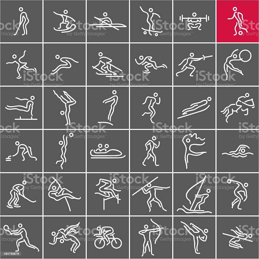 De Esportes Olímpicos - ilustração de arte em vetor