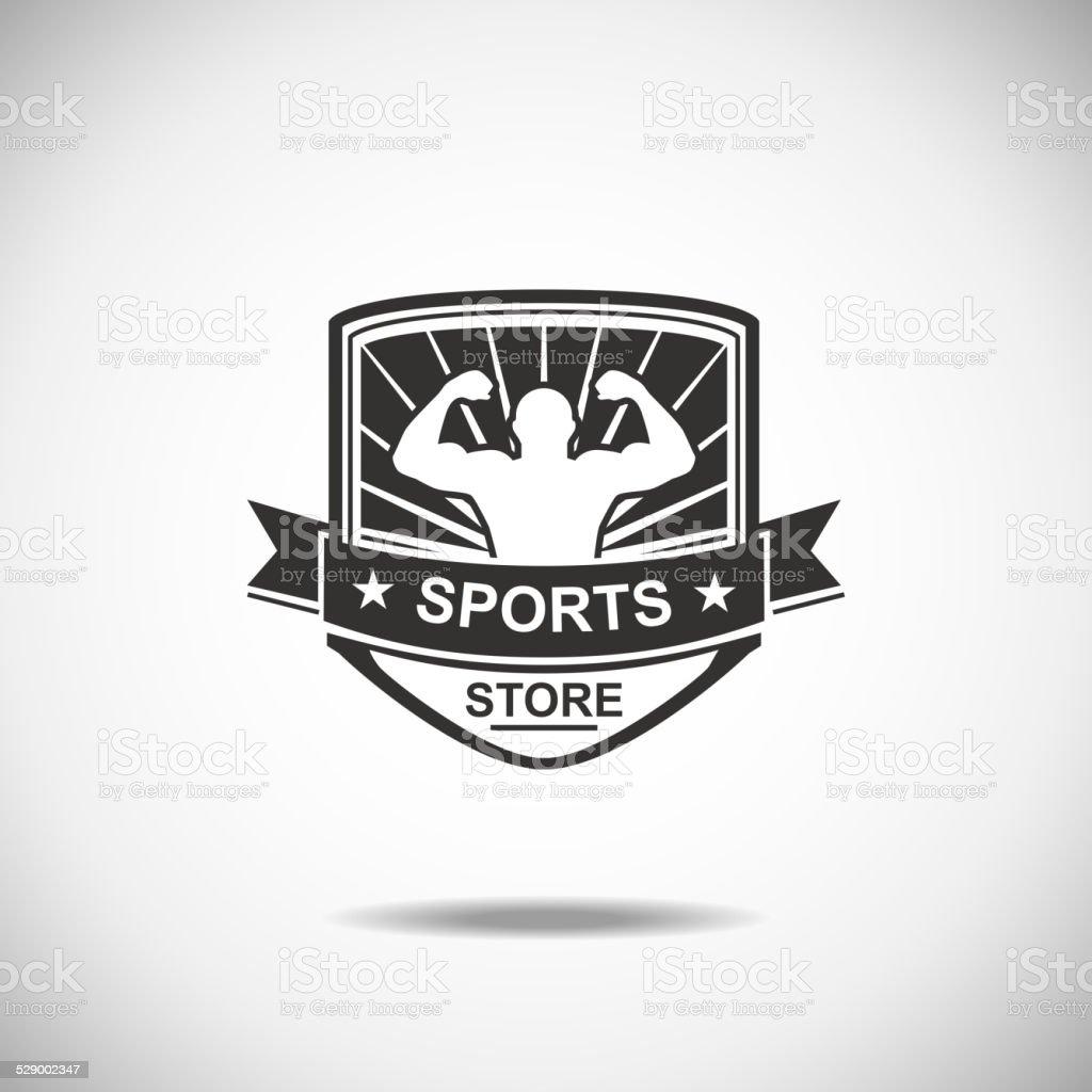 Sports vector art illustration