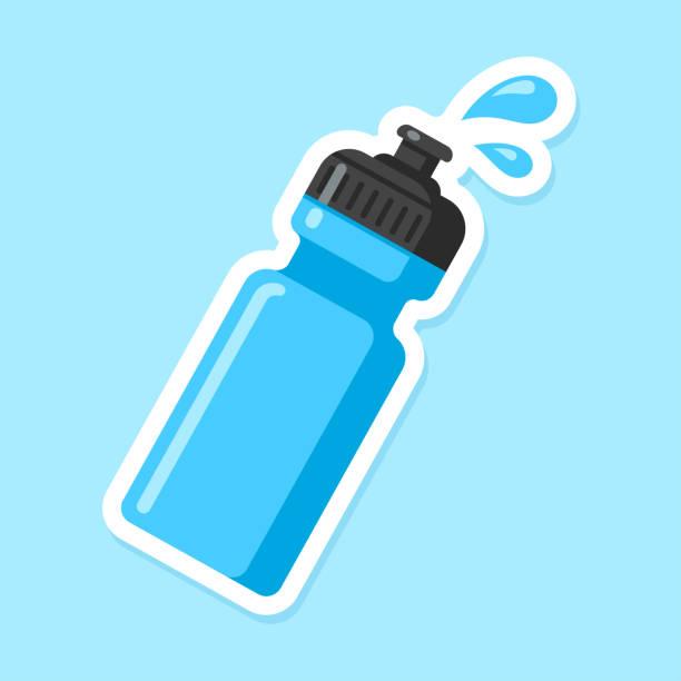 スポーツ水筒 - ペットボトル点のイラスト素材/クリップアート素材/マンガ素材/アイコン素材