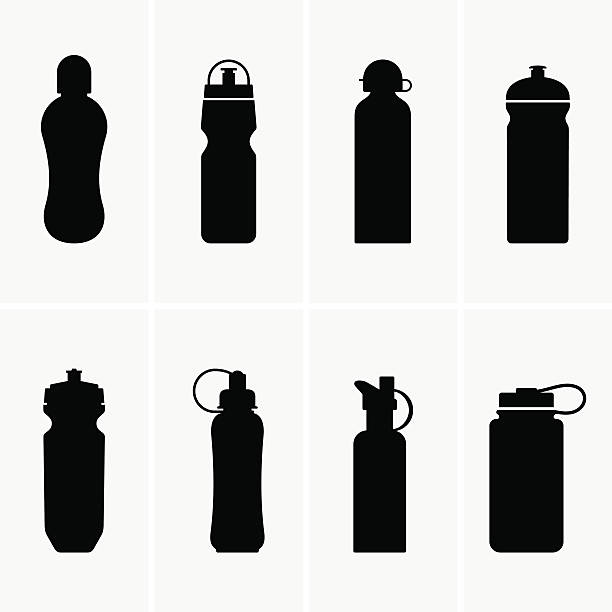Sport Bottle Illustrations, Royalty-Free Vector Graphics ...