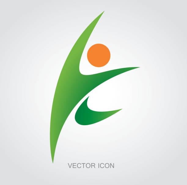 Sportler-Symbol – Vektorgrafik