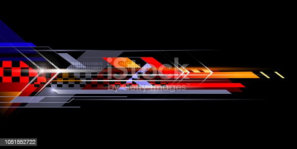 abstract sporty background design