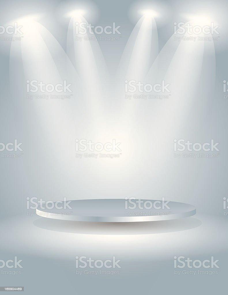 Spot light the oval stage
