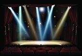 Spot Lights Theatre Stage
