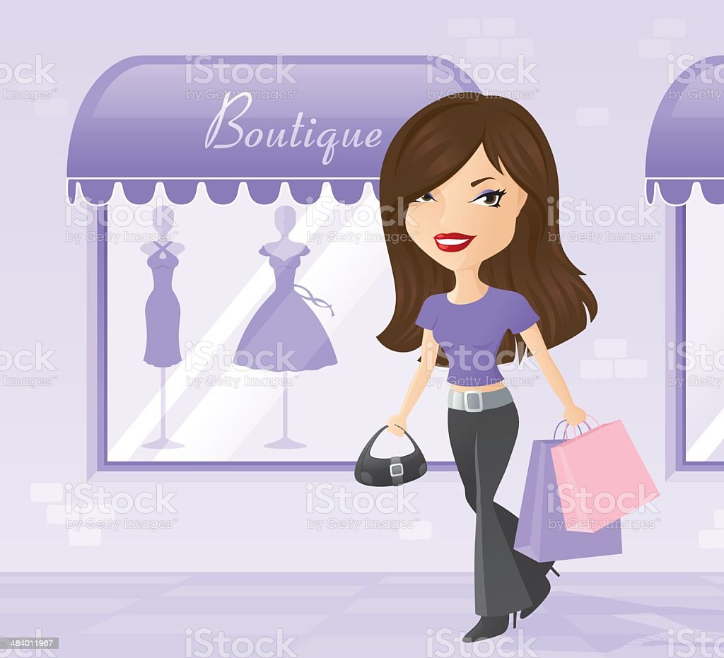 Spot of Shopping - incl. jpeg royalty-free spot of shopping incl jpeg stock vector art & more images of adult