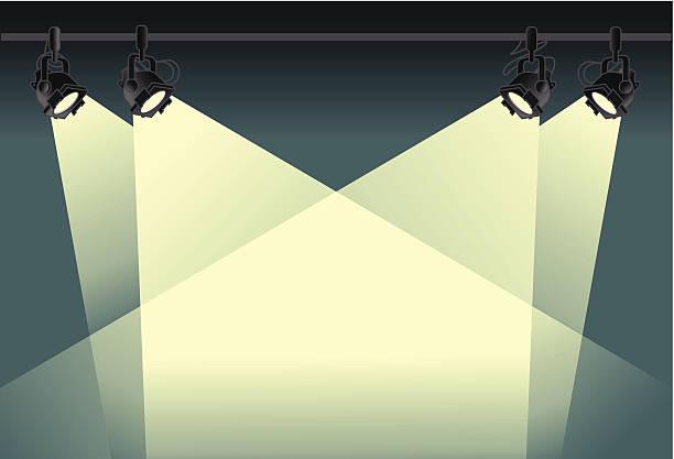 spotlight background spotlight background stage light stock illustrations