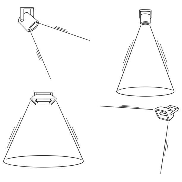 spotlight – artystyczna grafika wektorowa