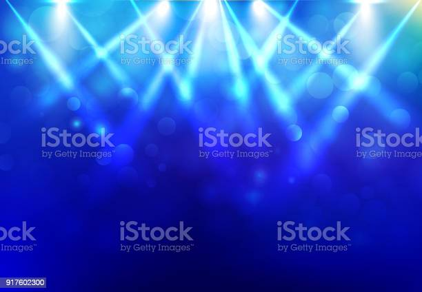 Spotlights lighting disco party stage with blured bokeh on blue dark vector id917602300?b=1&k=6&m=917602300&s=612x612&h=ejtii 4swz7n7vi3ypds9orx5brfllz8iwuszu4emh4=
