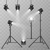 Spotlights stuff in vector