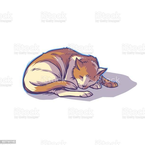 Spotted cat sleeping curled up vector id637761140?b=1&k=6&m=637761140&s=612x612&h=bdtrkedup c3bjiu6ite yn0wop0bst2zkvzjpermgg=