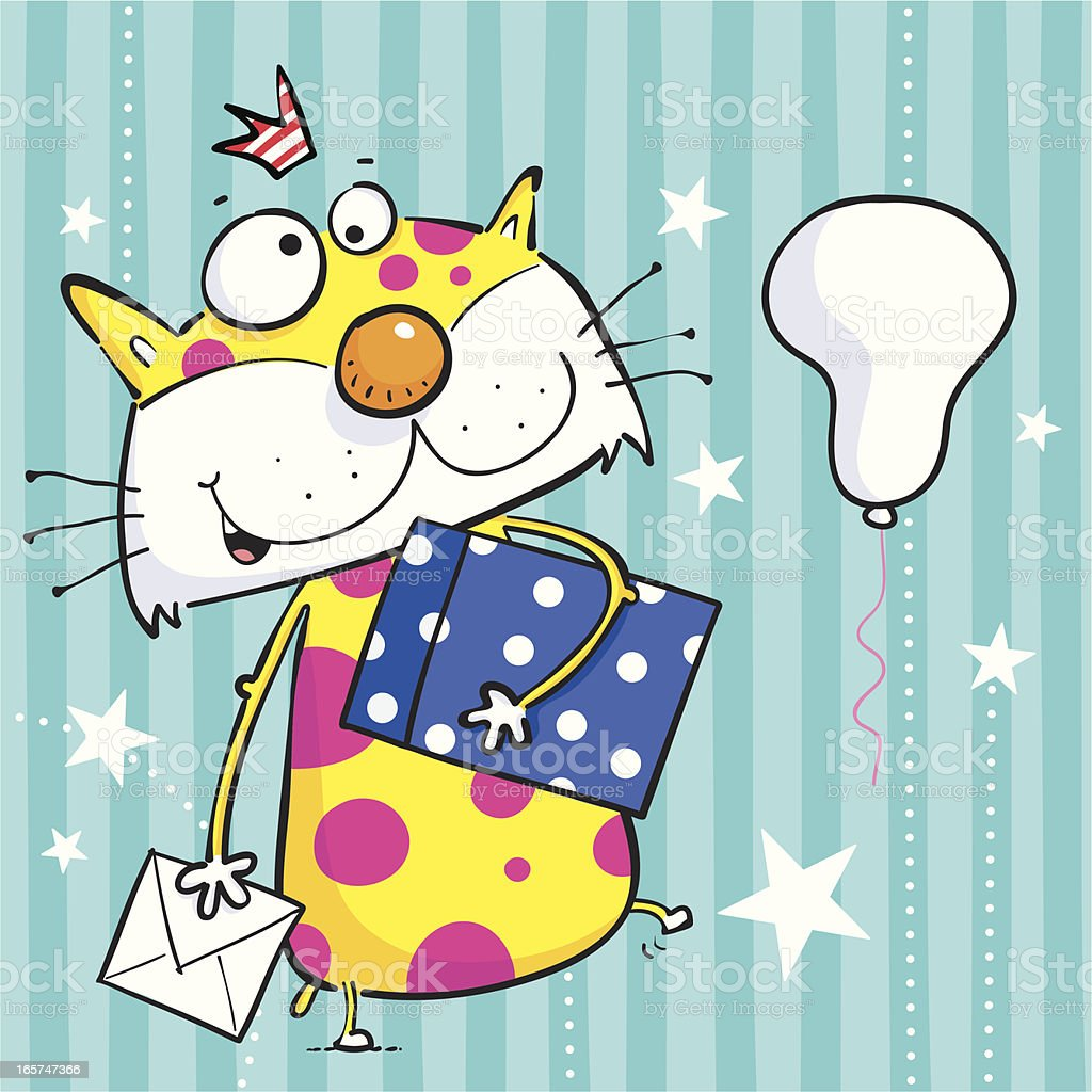 Spotted Cat royalty-free spotted cat stock vector art & more images of animal