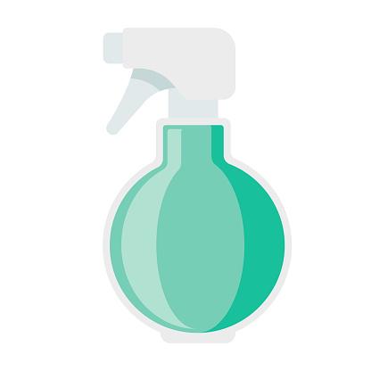 Spray Bottle Icon on Transparent Background