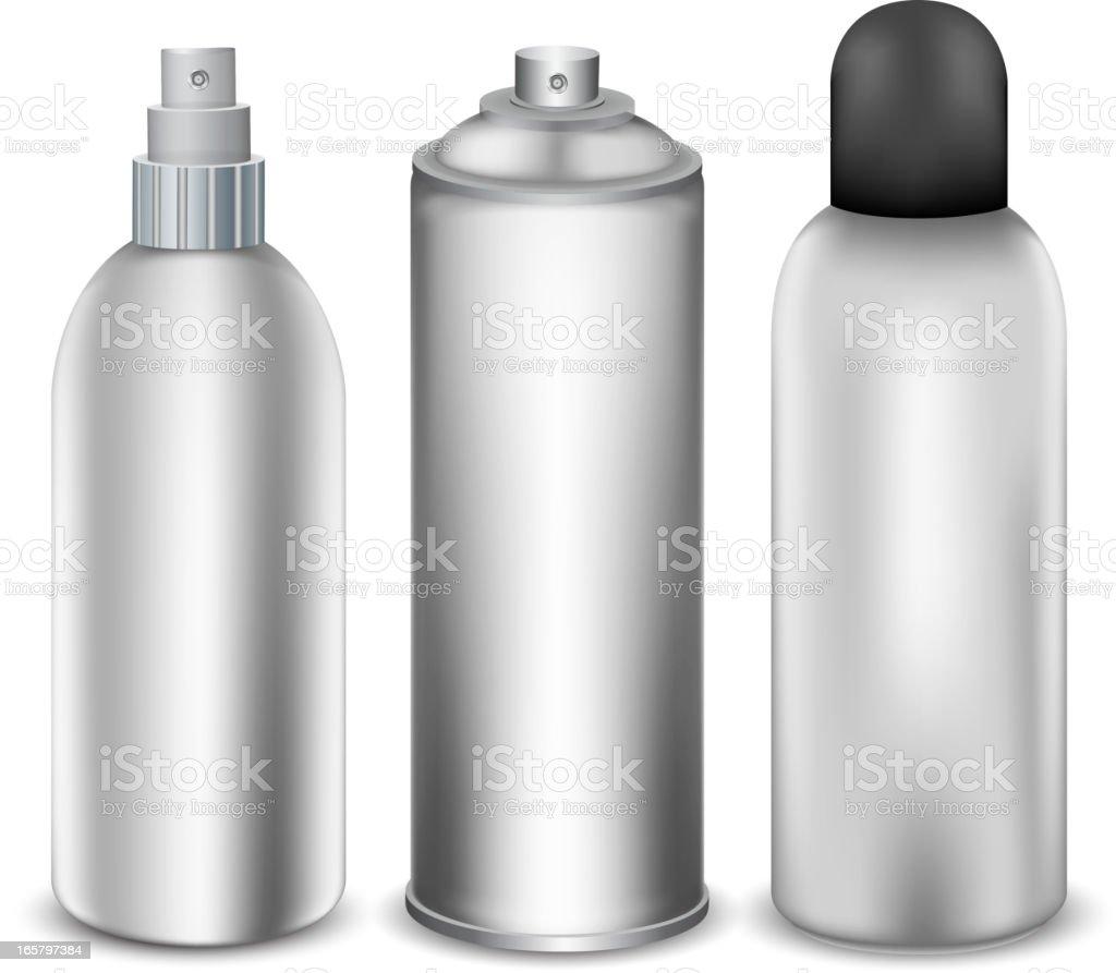Spray-Flaschen – Vektorgrafik