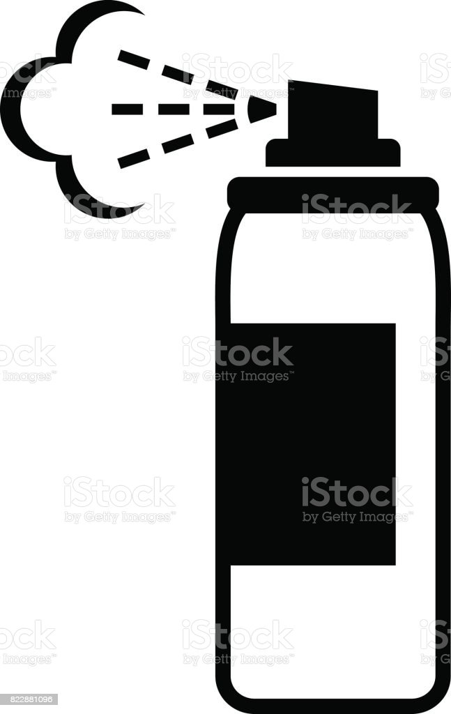 spray can vector icon stock vector art more images of aerosol can rh istockphoto com spray can vector free spray can splash vector