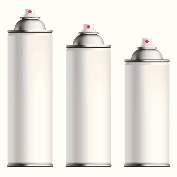 spray can vector art illustration