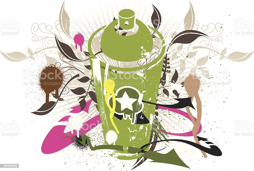 Spray Can royalty-free spray can stock vector art & more images of aerosol can