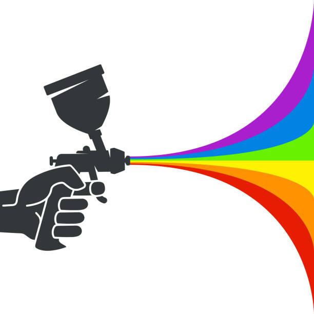 Artist Spray Paint Gun