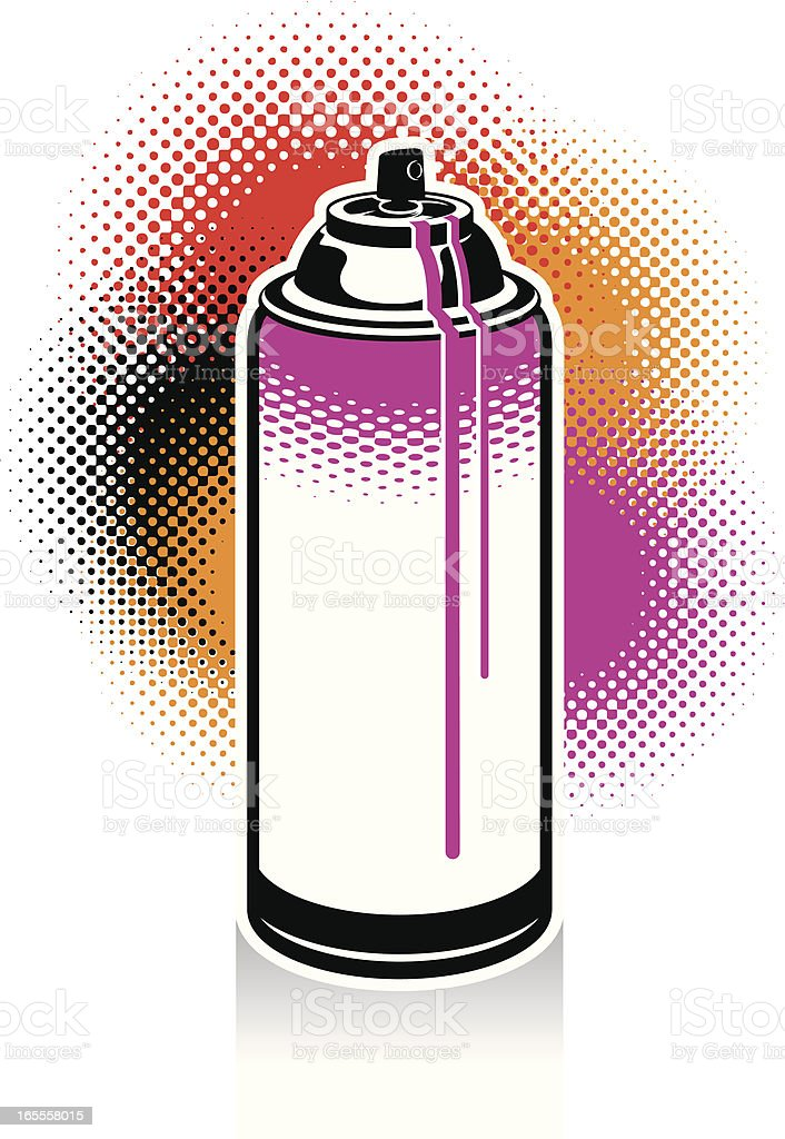 Can I Use A Computer During A Storm: Spray Paint Can Stock Vector Art & More Images Of Aerosol