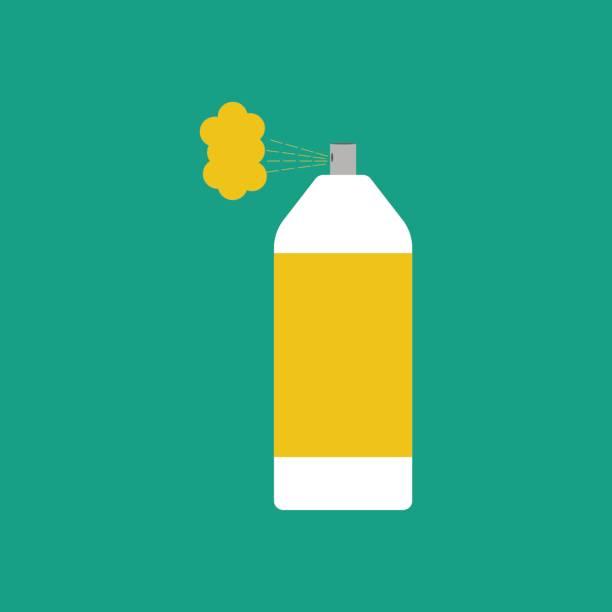 spray paint können - haarsprays stock-grafiken, -clipart, -cartoons und -symbole