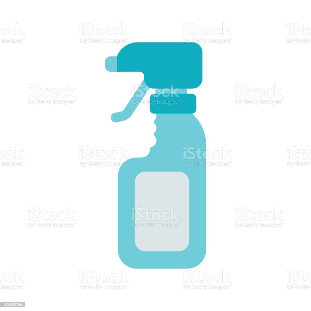 Sprayer Isolated On White Background Cleaner Accessories Stock ...