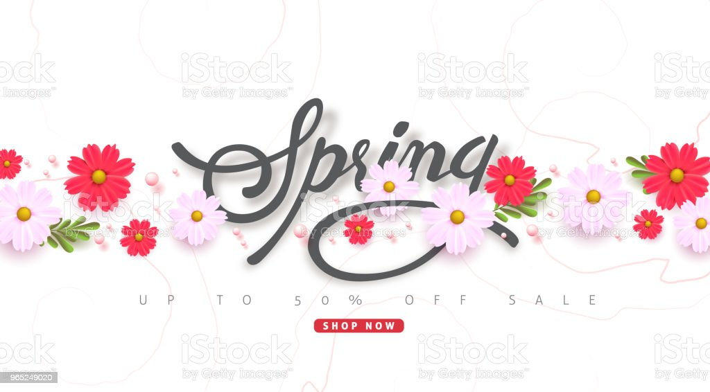 spring 41 royalty-free spring 41 stock vector art & more images of advertisement