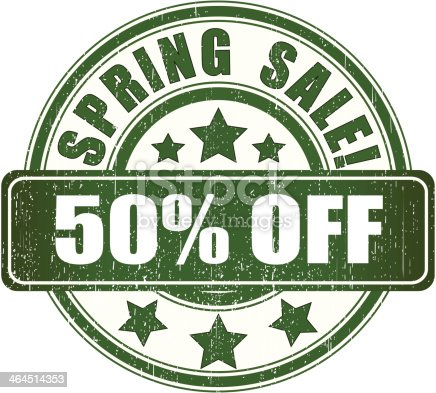 2 credits only. Spring 50% off product sign.