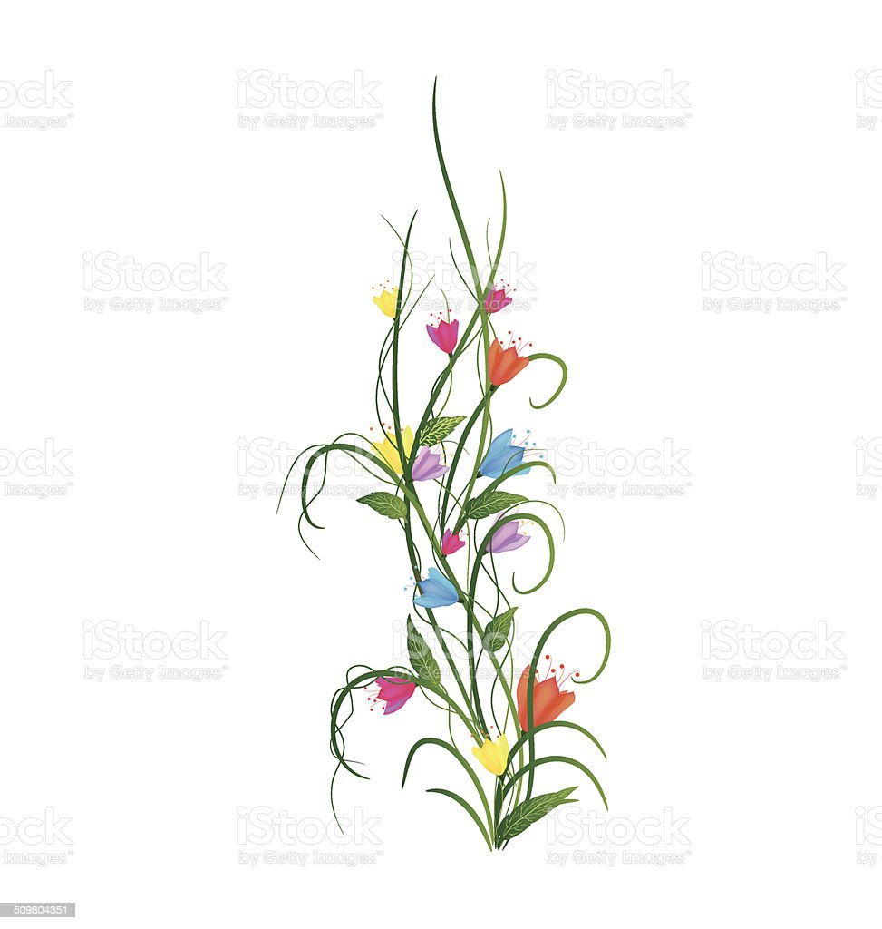 Spring And Flower Stock Vector Art More Images Of Above 509804351
