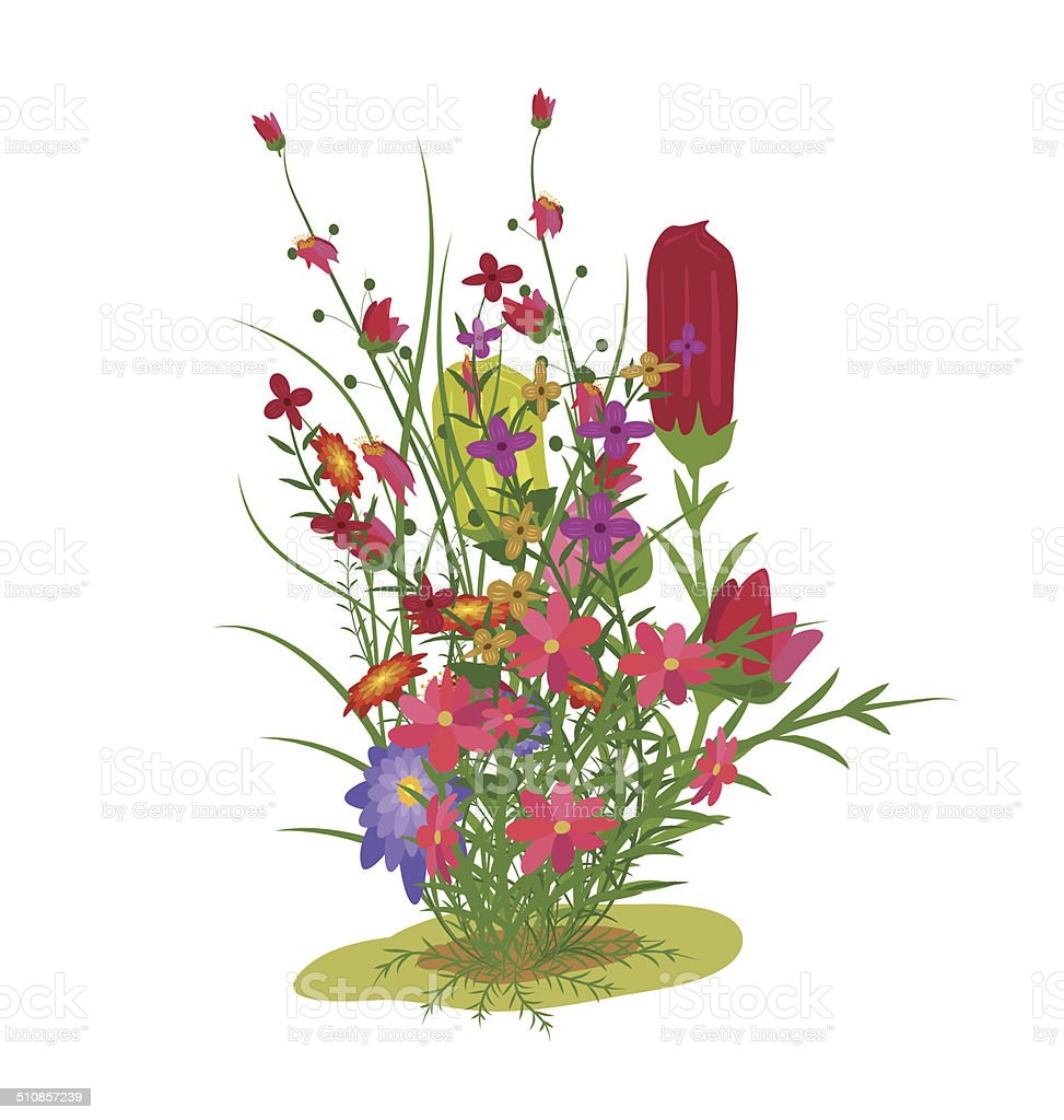 Spring And Flowers Stock Vector Art More Images Of Abstract