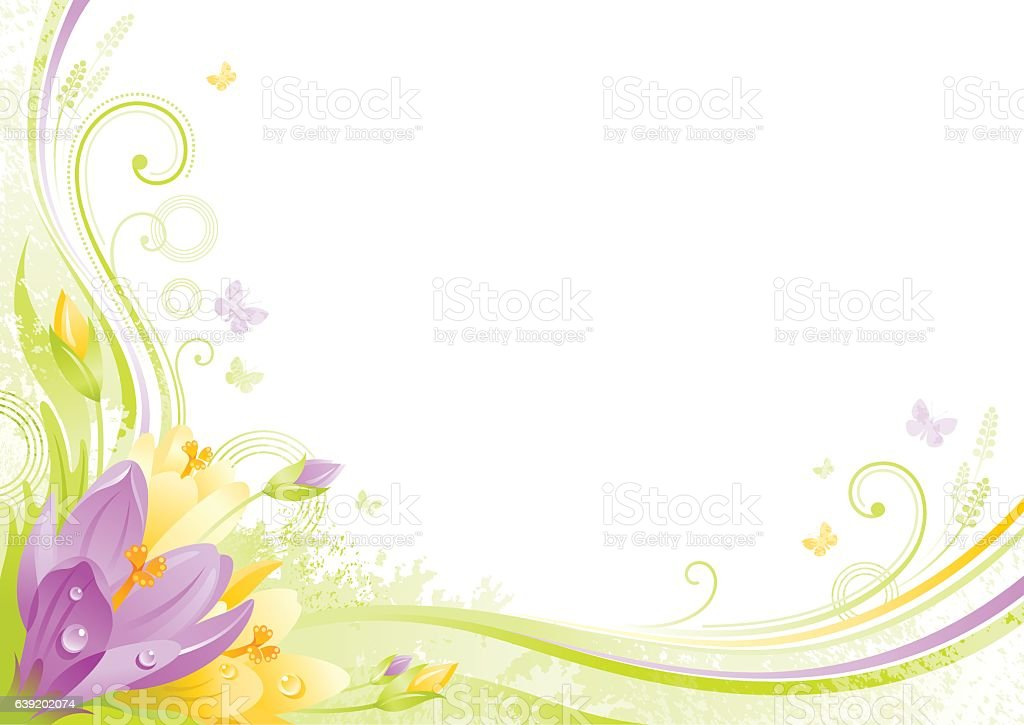 Spring Background Easter Mothers Day Birthday Wedding