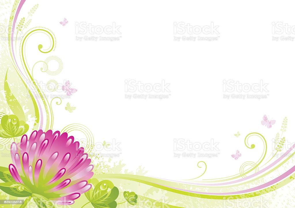 Spring Background Easter Mothers Day Birthday Wedding Flower Vector