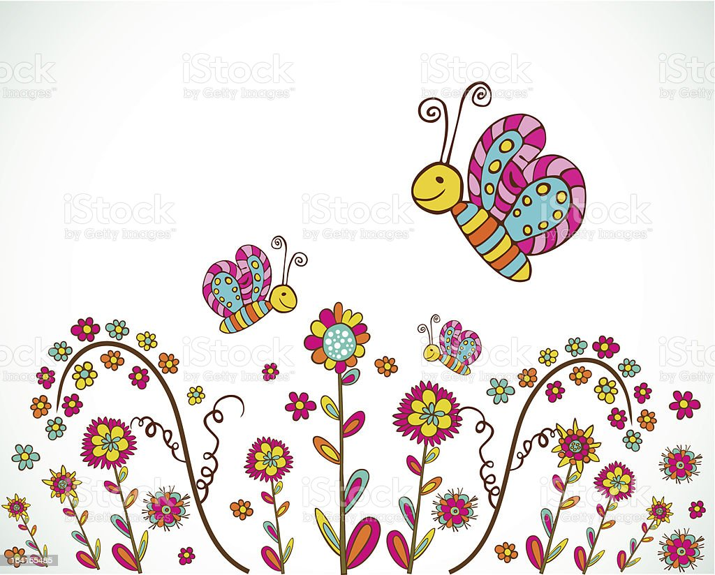 Spring background royalty-free spring background stock vector art & more images of abstract