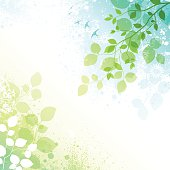 Spring background with transparent effect and watercolor effect textures, File is layered and global colors used.  Hi res jpeg included in download. Scroll down to see more of my illustrations.