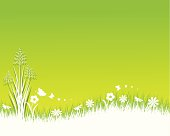 Spring. ZIP contains AI format, PDF and jpeg XXXLarge.