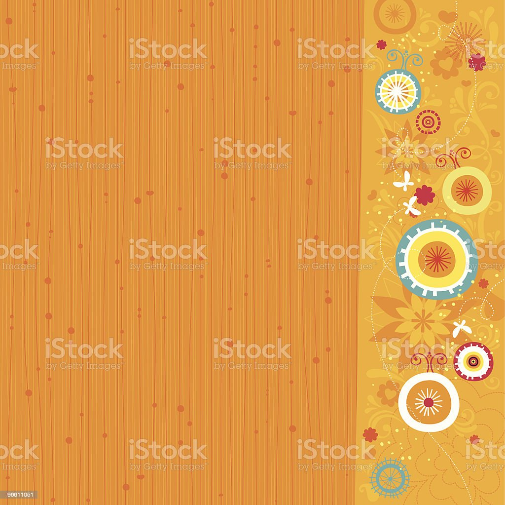 Весна фон - Векторная графика Бабочка роялти-фри