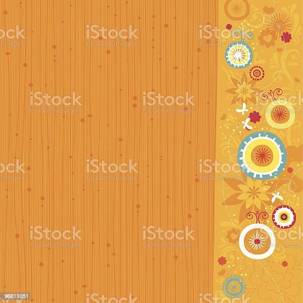 Весна Фон — стоковая векторная графика и другие изображения на тему Бабочка