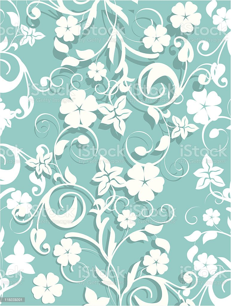 spring background - vector royalty-free stock vector art