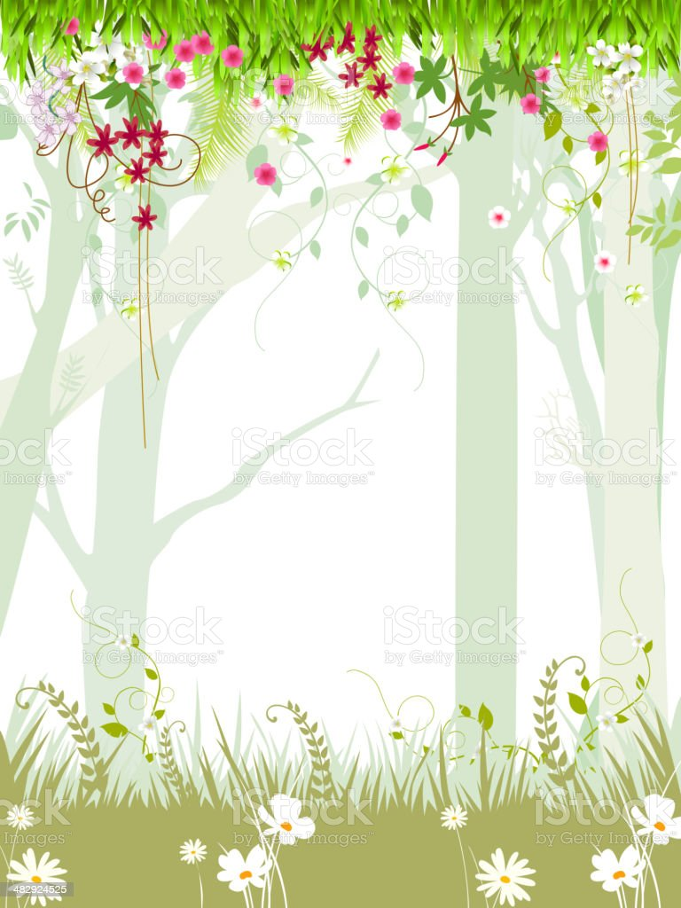 Spring Background with Copy space royalty-free spring background with copy space stock vector art & more images of backgrounds