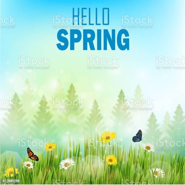Spring background with flowers and butterflies in meadow and pine vector id512885288?b=1&k=6&m=512885288&s=612x612&h=8nt4or2nzyod9tgfuq2rgrknvhim9laeijc tlk87k8=